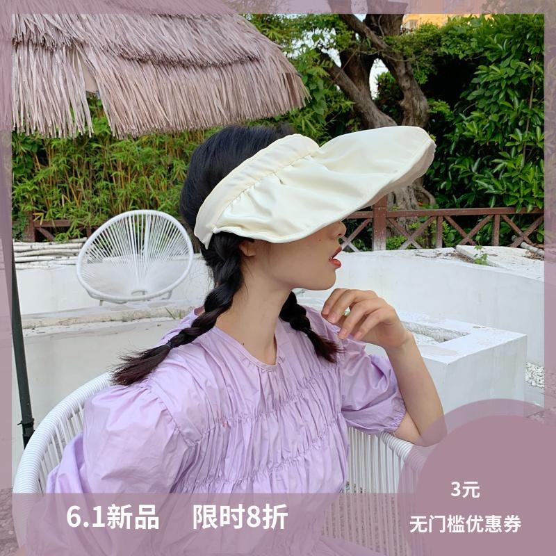 炎炎夏日不能输~大檐遮阳发箍帽透气防晒遮阳帽子女百搭出游度假
