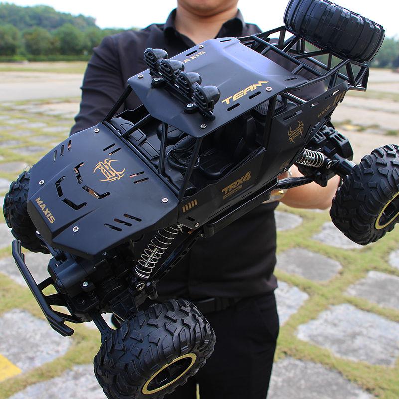 超大号遥控车漂移越野车四驱攀爬大脚车高速赛车男孩充电玩具汽车