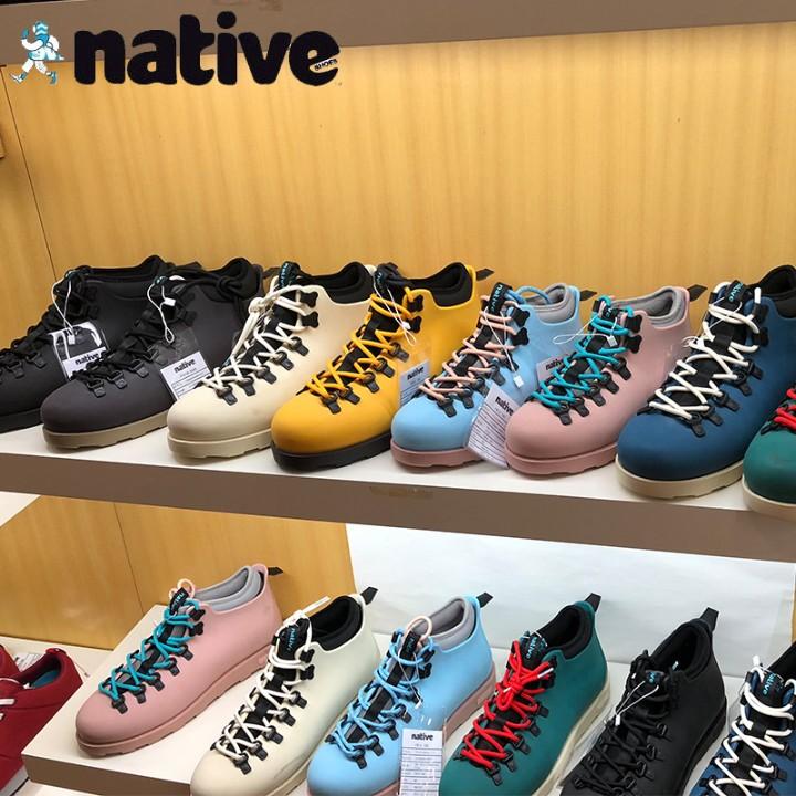 正品Native Shoes Fitzsimmons boots新款工装鞋高帮靴男女马丁靴
