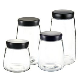 密封罐玻璃瓶储物咖啡豆茶叶罐柠檬蜂蜜收纳盒酵素带盖食品小罐子