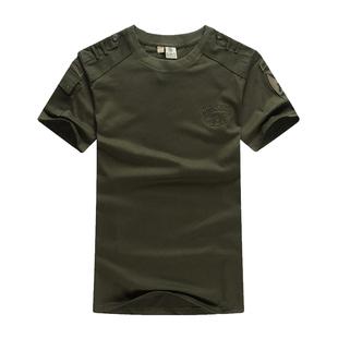 军野行男装夏季户外运动工装圆领T恤军迷休闲战术特种兵短袖T恤男图片