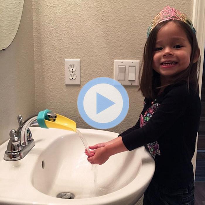 Foucet Extender 鸭嘴洗手辅助器 儿童水龙头延伸器 导水器
