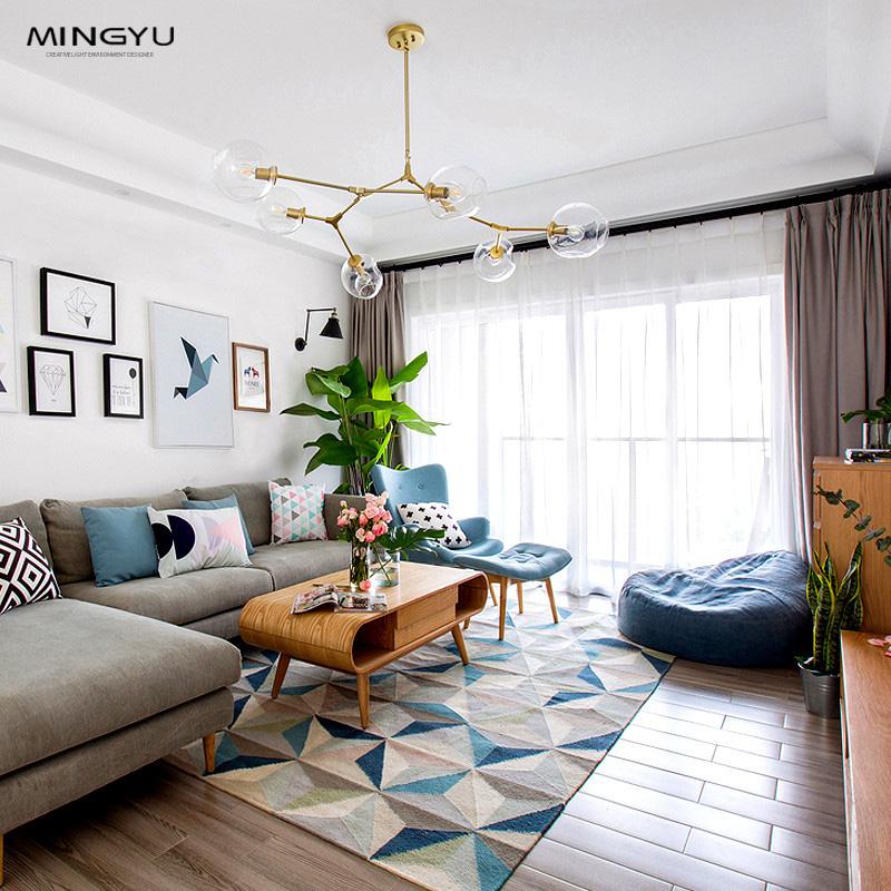 北欧吊灯lindsey后现代客厅吊灯简约创意餐厅设计师个性卧室灯具