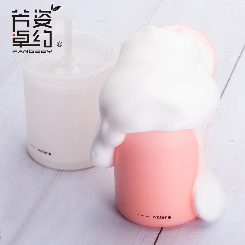 网红抖音同款气泡洗脸神器洗面奶打泡器起泡器打泡瓶杯打沫按压式