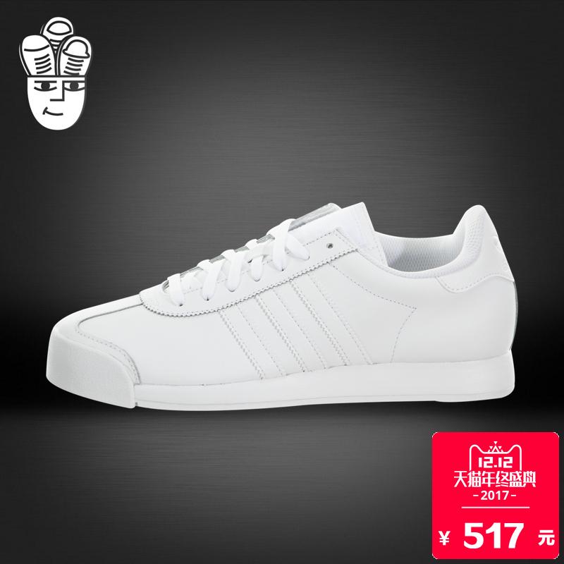 阿迪达斯 Adidas Samoa 三叶草男子潮鞋 复古休闲鞋 时尚运动鞋