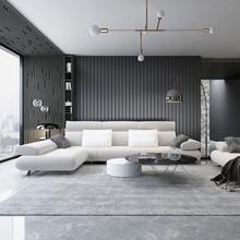 地毯客厅北欧现代简约灰色sf9几地毯轻px满铺床边可定制地毯