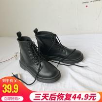 A8597901WX千百度冬新品商场同款绒面粗高跟女短靴C.BANNER