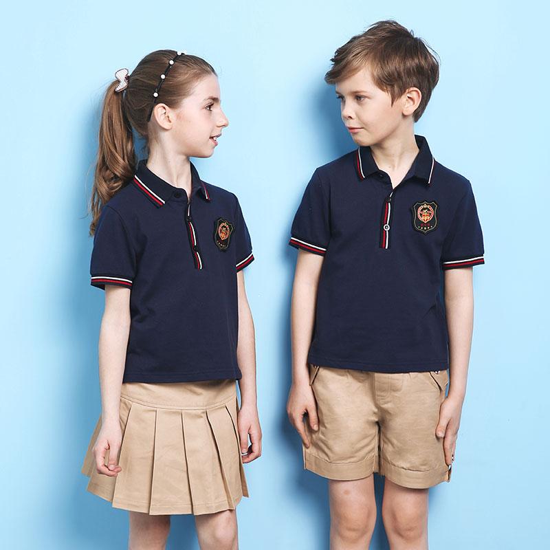 达伦德2016款儿童装 小学生校服 幼儿园园服夏季图片