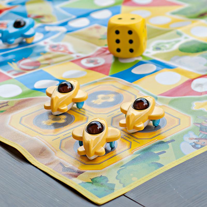 儿童大型飞行棋棋类地毯式小学生游戏棋牌益智成人地垫亲子爬行垫