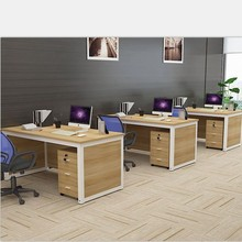 电脑桌简约现代医ji5诊桌组合tu桌培训桌销售台工位桌