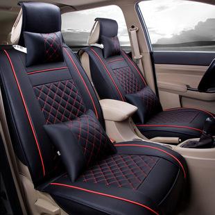 汽车坐垫全包围座套皮革座椅套四季通用7座车脚垫全套2020款新19