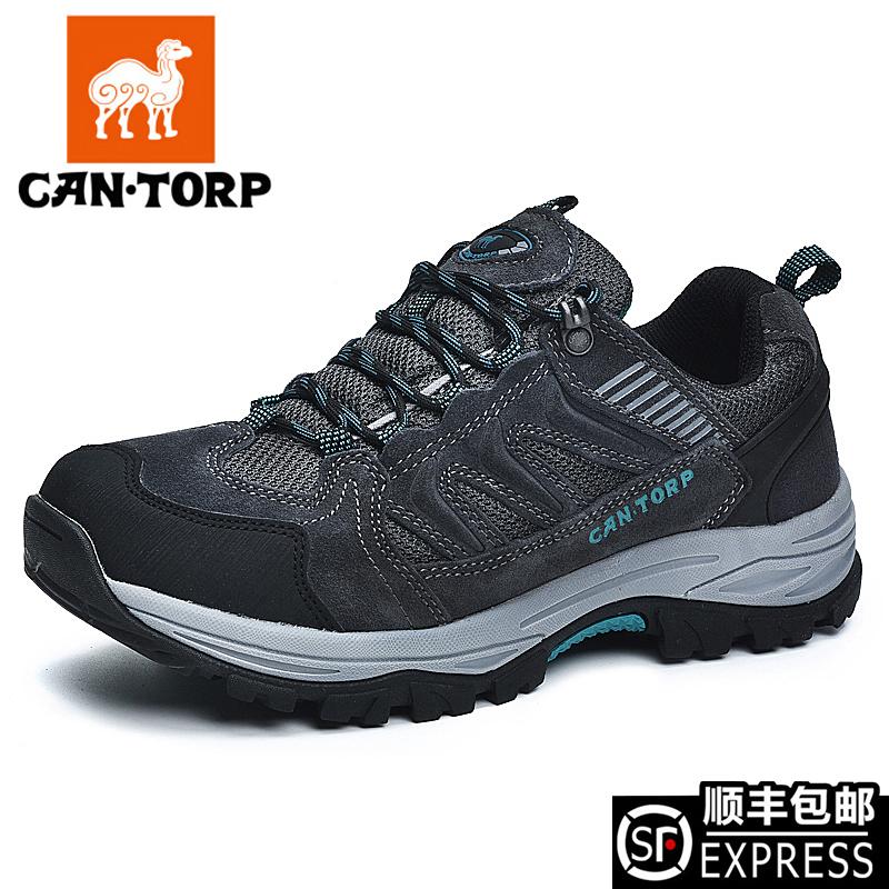 CAN·TORP骆驼男鞋登山鞋秋冬防水防滑耐磨保暖徒步鞋休闲运动鞋