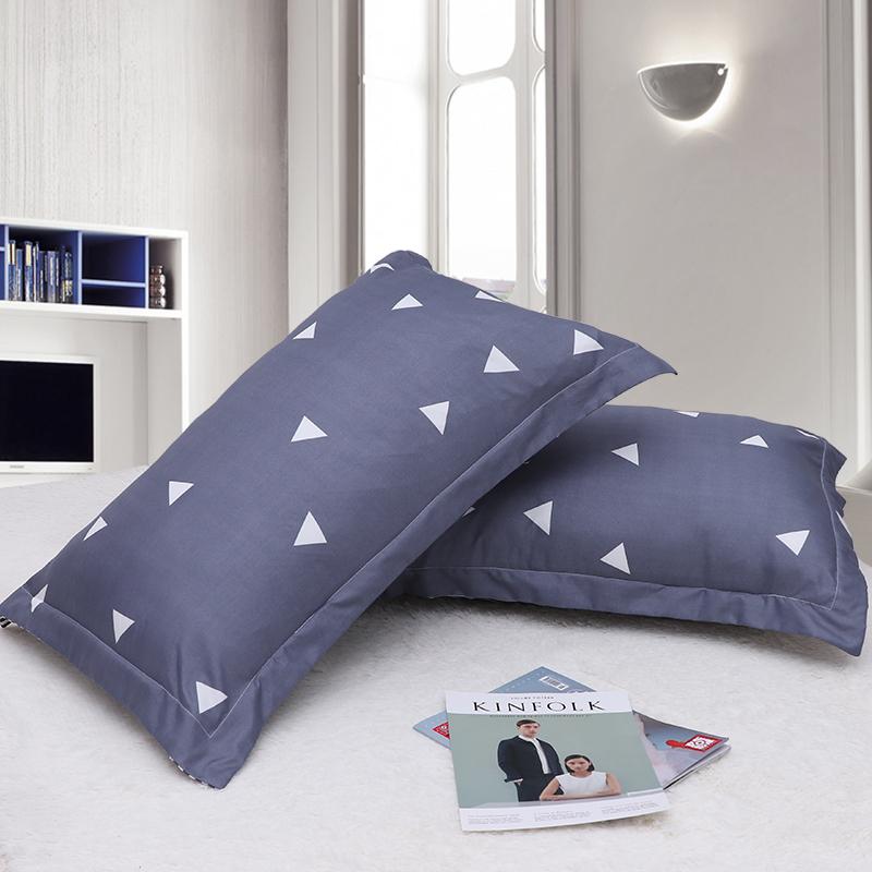 靠枕枕芯一对正品成人家用酒店一只装羽丝绒枕套四季单人枕头学生