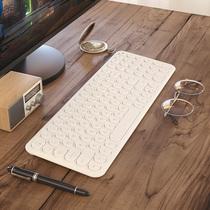 BOW航世 无线键盘鼠标套装可充电式家用轻薄静音办公专用打字笔记本台式电脑外接圆点游戏苹果键鼠套装