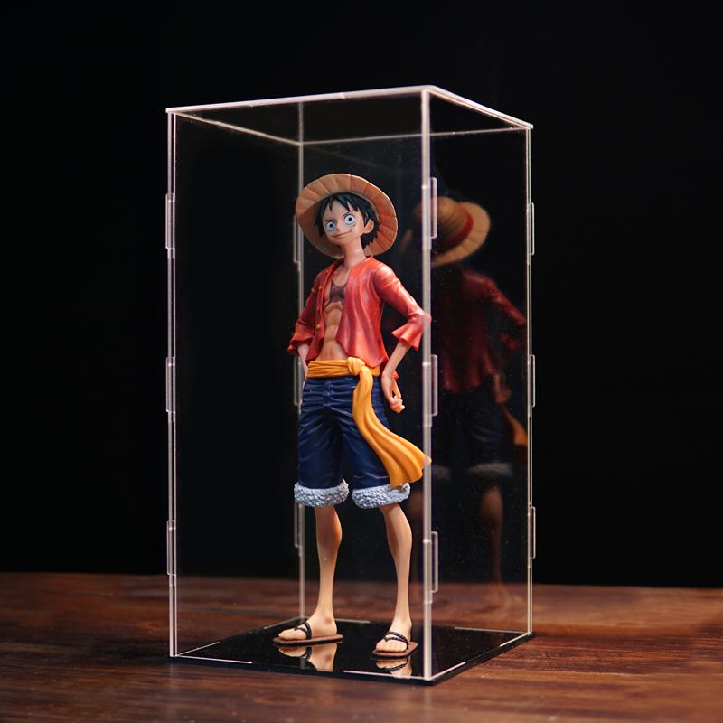 海贼王手办模型路飞索隆艾斯 全套透明亚克力展示盒动漫生日礼物
