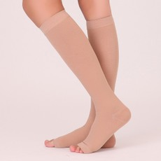 脉迪弹力袜瘦腿袜美腿袜瘦小腿袜中筒袜 男女秋冬季厚款