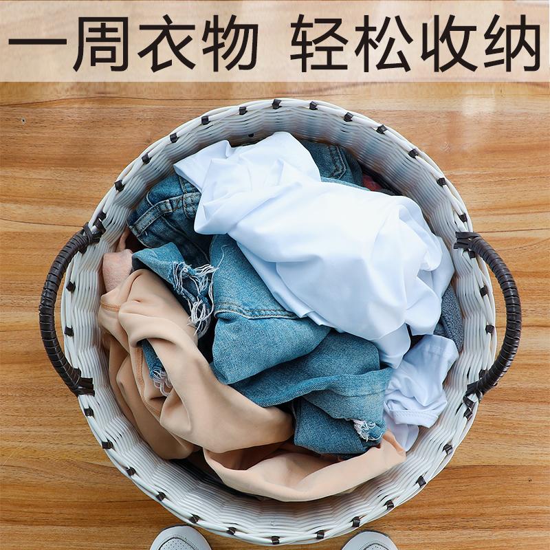抖音神器脏衣篮脏衣服框收纳筐家用衣服篮子北欧可折叠大号脏衣篓