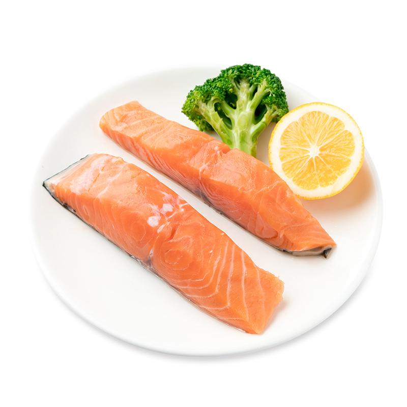 美威欧式原味三文鱼排(2片装)250g冻海鲜 海鲜水产