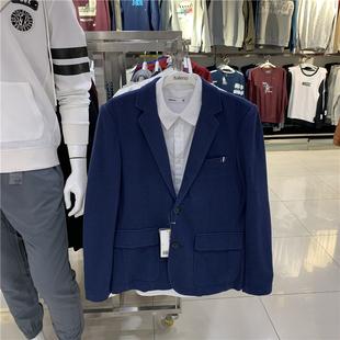 正品Baleno班尼路秋冬新款男装修身商务韩版休闲时尚西服西装外套