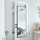 门后镜子贴墙自粘全身镜落地镜家用穿衣镜壁挂试衣镜挂墙挂门粘贴