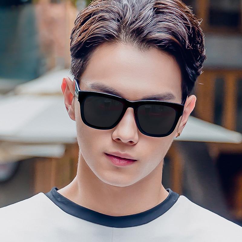 墨镜男潮偏光太阳镜女开车专用眼镜2020年新款圆脸防紫外线司机镜