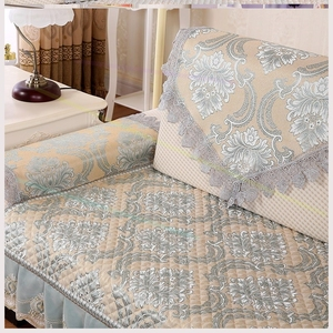 Cloth cushion sofa back towel non-slip wild fabric towel cover simple towel cover towel temperament thickening home.
