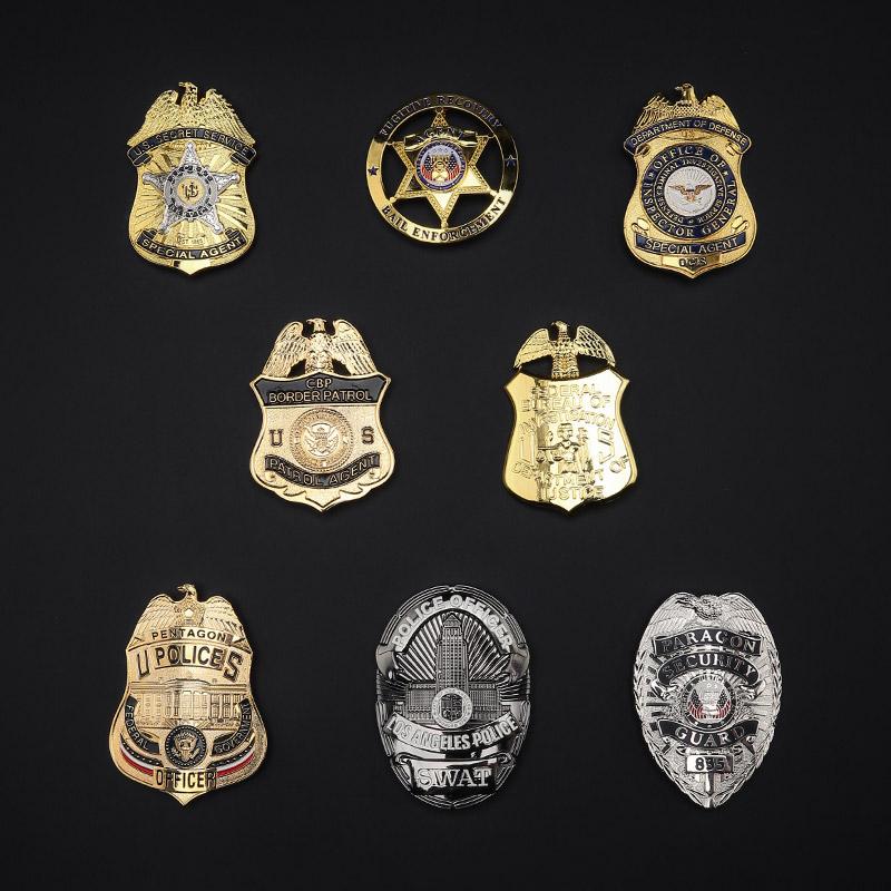 金属徽章户外个性新创意美军勋章胸标军迷胸章纪念章肩章臂章领章