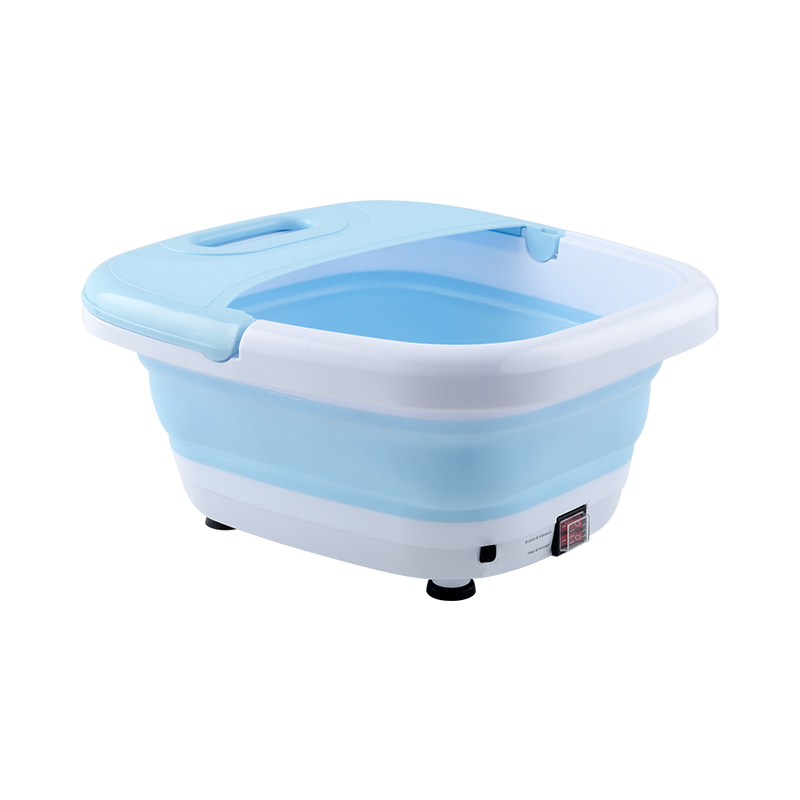 朗欣特折叠可收纳恒温足浴器伸缩便携加热足浴盆洗脚盆按摩泡脚桶