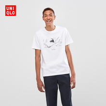 Men's/Women's Wear (UT) SHINKAI FILM Printed T-shirt (Short Sleeve) 423834 Uniqlo