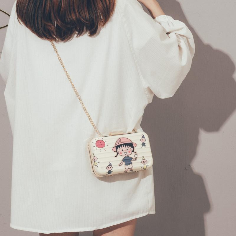 迷你小包包女2020新款今年流行超火链条小方包可爱童趣斜挎手机包