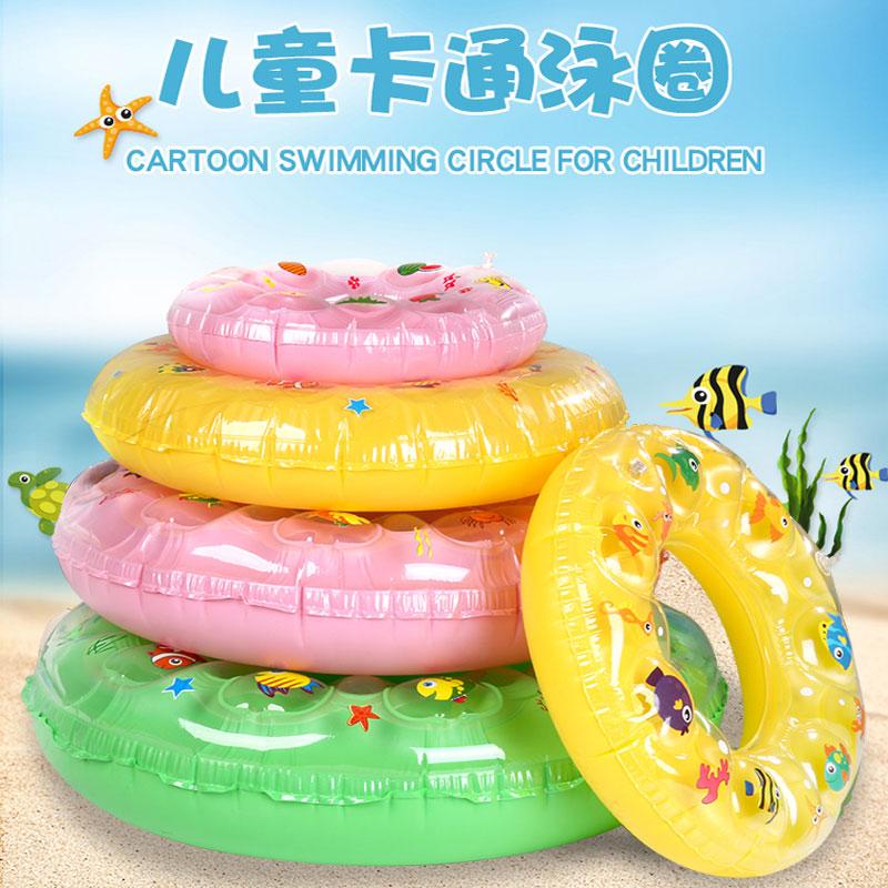 火烈鸟游泳圈成人大号加厚救生圈大人儿童腋下泳圈3-6-10岁初学者