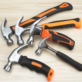 迷你小锤子木工羊角锤家用钉锤特钢铁锤榔头纯钢锤头短把锤子工具