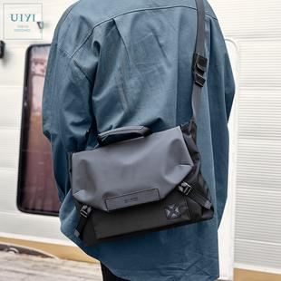 佑一良品单肩包男休闲潮牌斜挎韩版时尚潮流男士包袋背包韩版手提图片