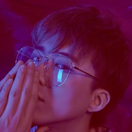 费启鸣同款复古眼镜框素颜超大框平光眼镜金属男女近视眼镜架潮流