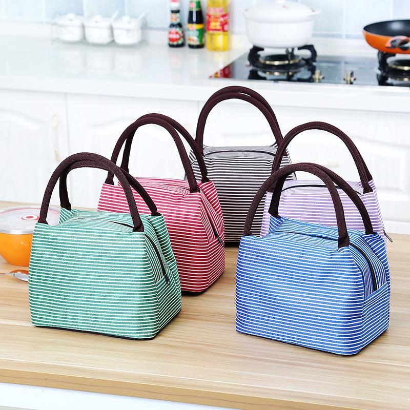 点击查看商品:饭盒袋午餐铝箔加厚手拎便当包饭盒包便当盒帆布保温带饭的手提袋