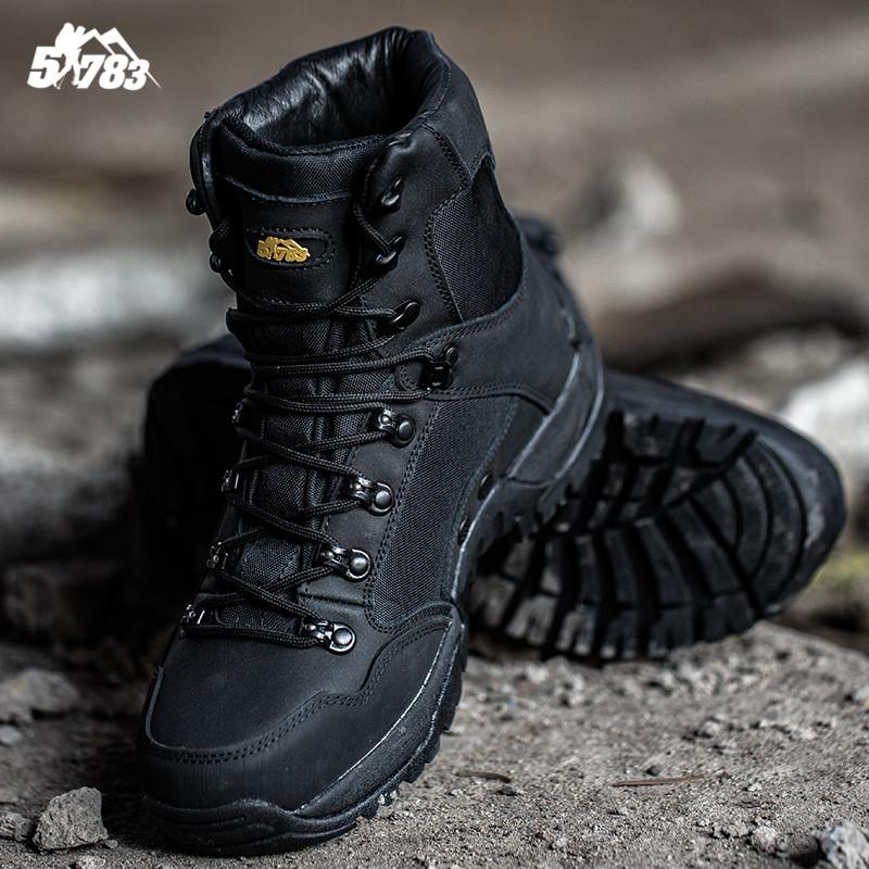 51783 户外511耐磨高帮战术靴子男款特种兵军靴沙漠作战靴登山靴