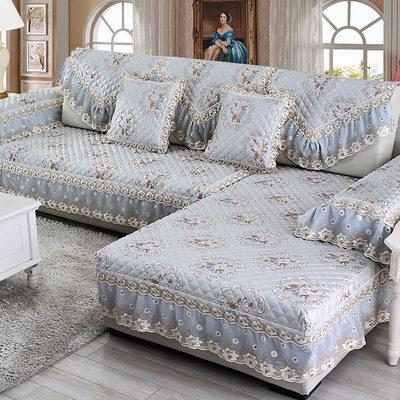 欧式沙发垫四季布艺简约现代沙发套夏季全包沙发罩巾定做沙发坐垫