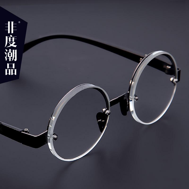 防疲劳高清老光眼镜女高档老花镜男水晶老视镜东海茶色石头镜养目
