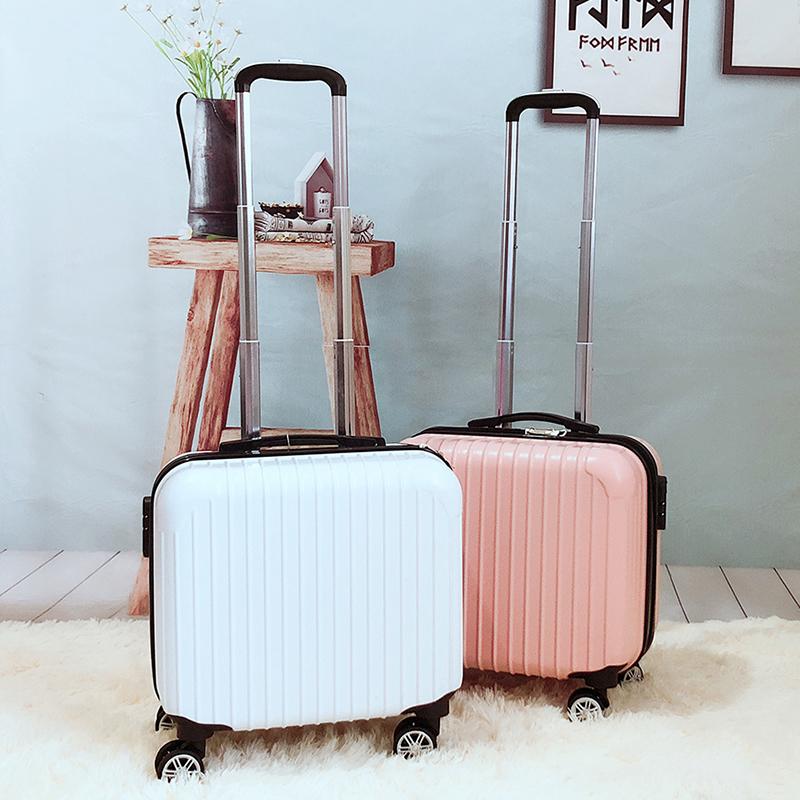 迷你拉杆箱万向轮18寸小型行李箱女旅行箱包韩版登机箱男小清新