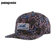 patagonia塔哥尼亚鸭舌帽平沿Boardshort夏季帽子情侣棒球帽38278