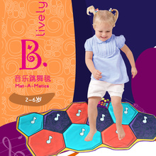American B. toys music dance blanket children's early education game mat than music baby toy enlightenment piano dance machine