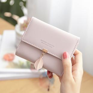 普瑞蒂小清新女士钱包女短款学生可爱韩版三折叠ins潮零钱包钱夹图片