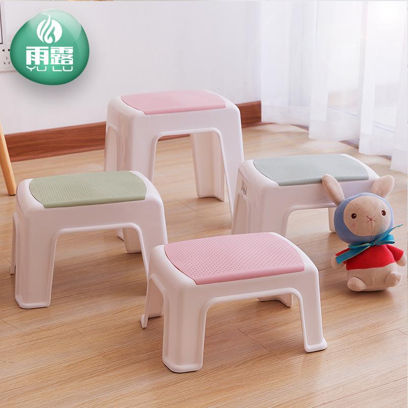 小凳子塑料板凳家用儿童凳加厚卡通可爱防滑胶凳脚踏宝宝矮凳洗澡
