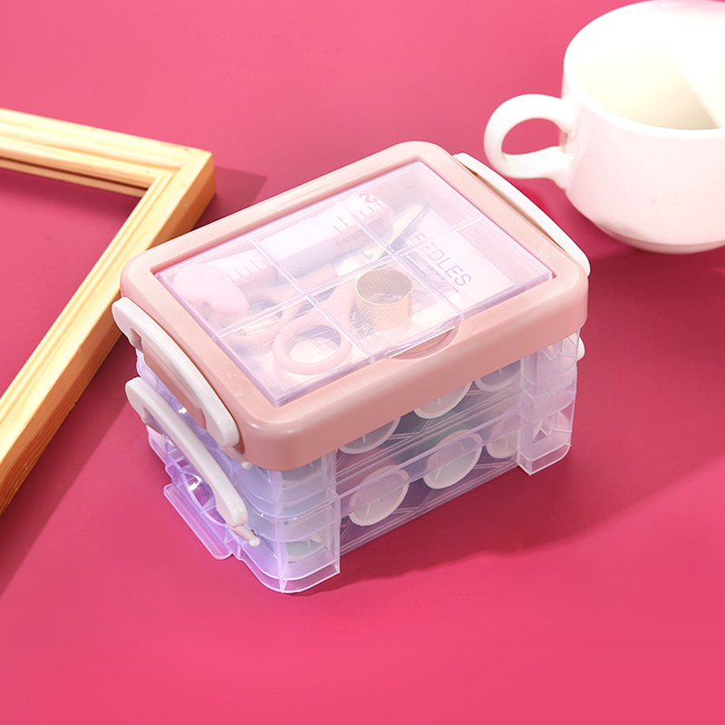 针线套装家用手缝缝纫用品小型可爱迷你收纳针线包工具便携针线盒