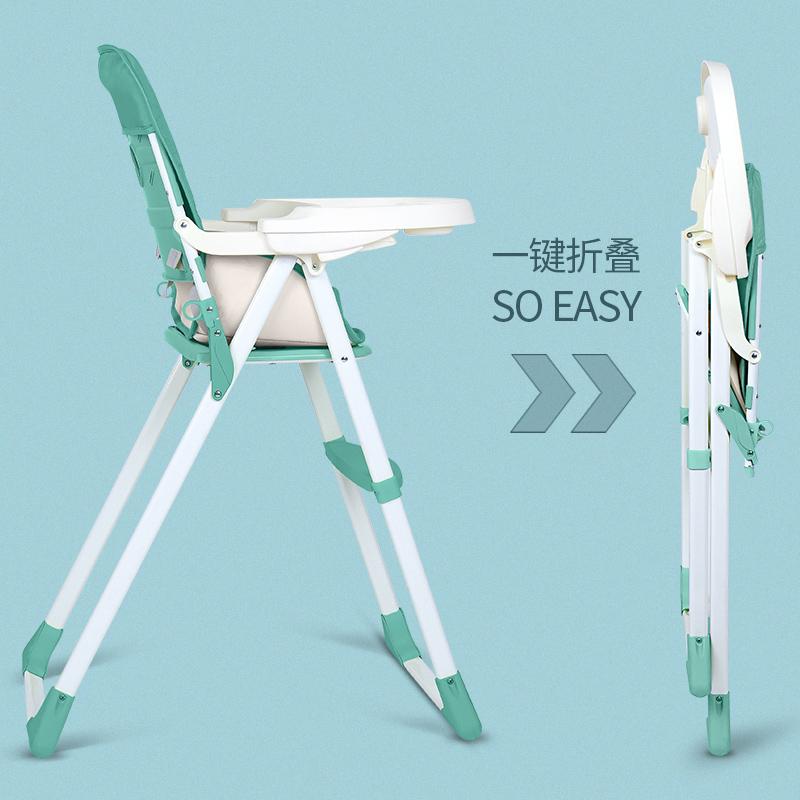 宝宝餐椅可折叠便携式儿童宜家多功能宝宝吃饭座椅婴儿餐桌椅椅子