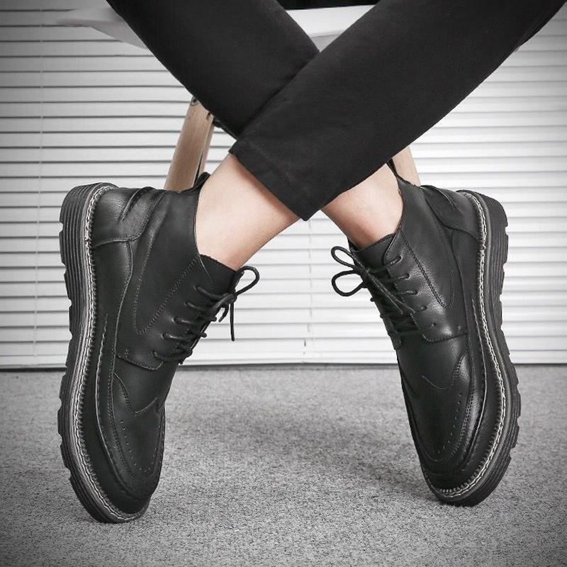 秋鼕季新款馬丁靴男士