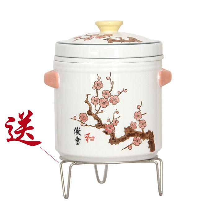 包邮正品家用滋补养生大容量陶瓷双盖隔水炖盅耐高温燕窝乳鸽炖罐
