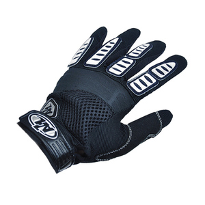Autumn and winter bicycle long finger gloves unisex riding short finger gloves mountain bike equipment accessories