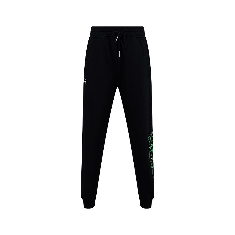 VISION STREET WEAR银泰专柜2020夏新品男女款针织长裤V203ND1005