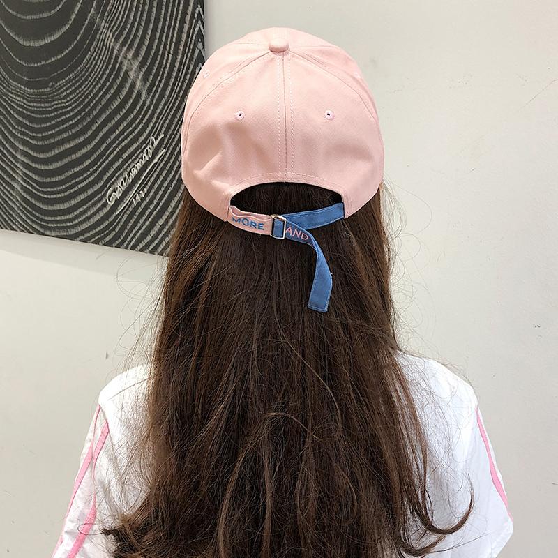 帽子女夏韩版百搭鸭舌帽ins日系时尚潮网红棒球帽防晒遮阳帽女帽